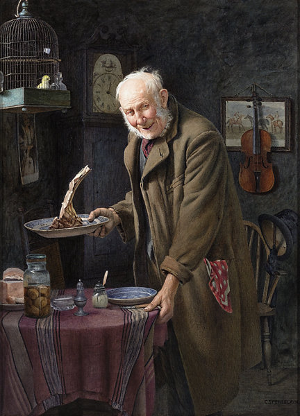 Charles Spencelayh, collection of M.S. Rau Antiques