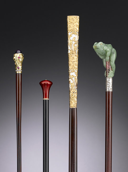 Walking Sticks, collection of M.S. Rau Antiques