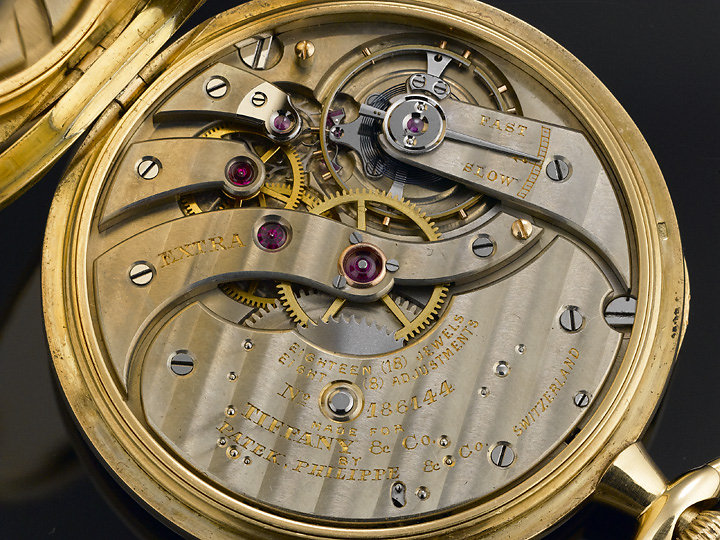 Patek Phillipe Pocket Watch, collection of M.S. Rau Antiques